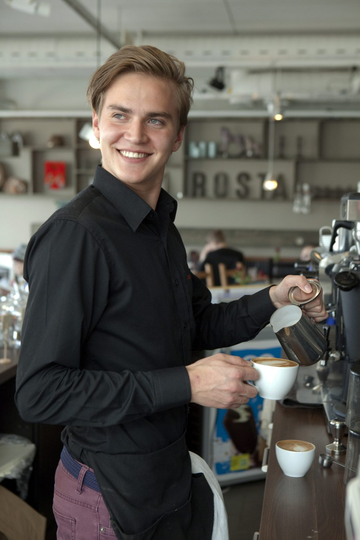 Teemme parhaamme että viihdyt kahvila Rostassa